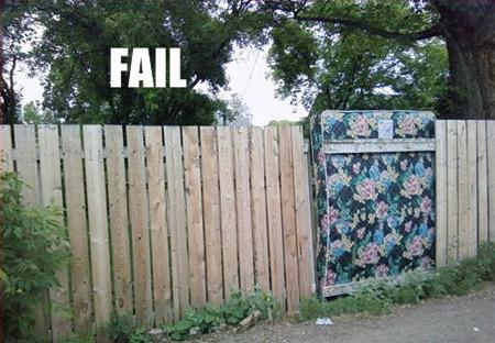 16 hilarious fence fails oddee