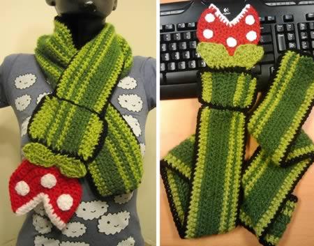 12 Totally Crazy Scarves - cool scarves, unique scarves - Oddee