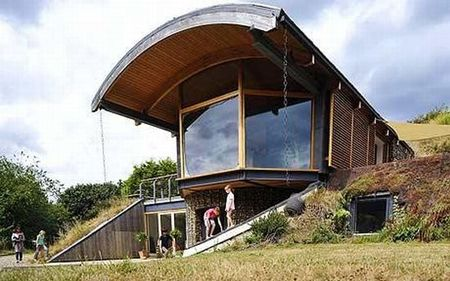This home was built to maximize exposure to sunlight, though most of the  home is underground! Eco-friendly, easy to heat and cool, and featuring a  unique ...