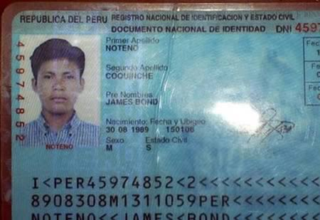 a98088_id_7 james bond 12 craziest ids with strange names funny id names oddee