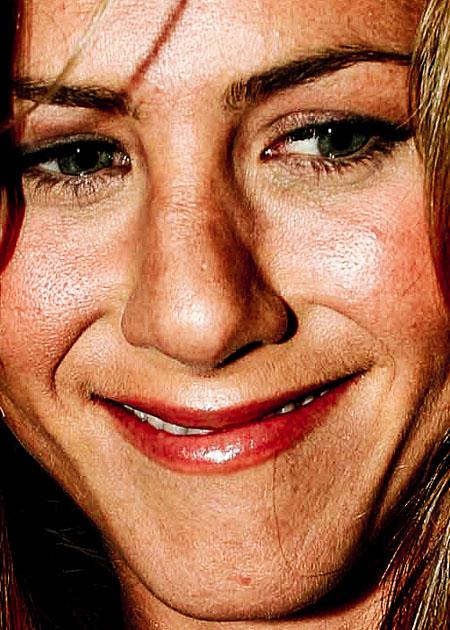 Celebrity face cream commercial