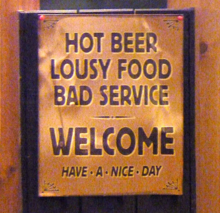 15 Hilarious Bar Signs Signs Bars Pubs Oddee