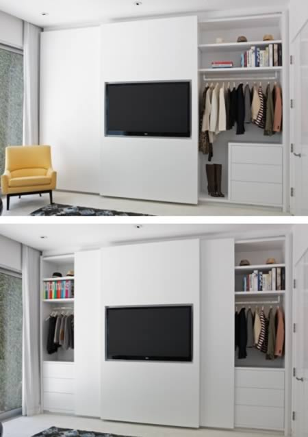 At First Glance This Just Appears Like A Well Organized Wardrobe Closet,  But If You Take A Closer Look Youu0027ll See One Of The Most Creative Closets  Ever!