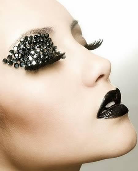 12 most extreme fashion makeup ideas makeup ideas oddee
