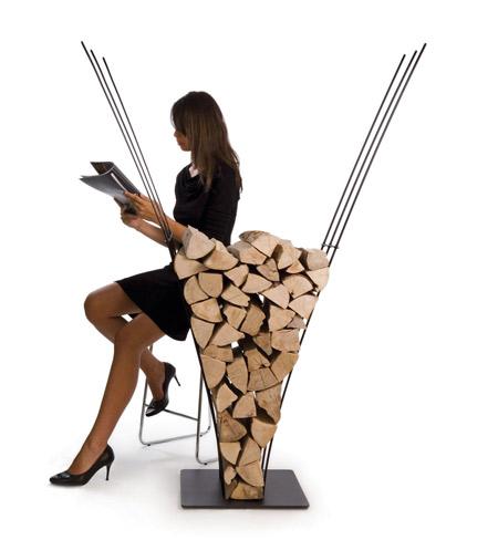 12 Most Creative Firewood Storage Ideas
