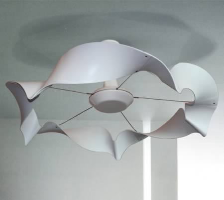 10 unique ceiling fans unique ceiling fans oddee a design student from the university of blade fans this ribbon ceiling fan recently won an australian design award in the student design category mozeypictures Image collections