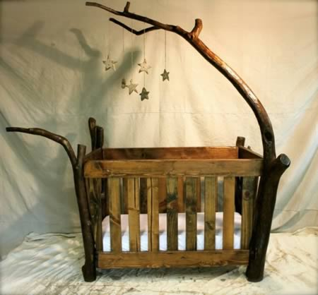 Rustic Charm For Your Babyu0027s Room.