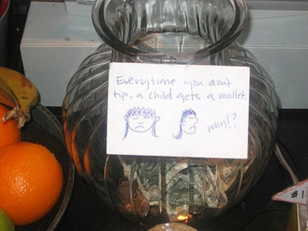 12 Cleverest Tip Jars Tip Jar Funny Tips Oddee
