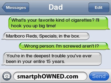 funny text messages to send