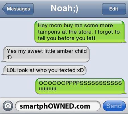 11 Funny Texts Sent To The Wrong Number Sms Fail Wrong