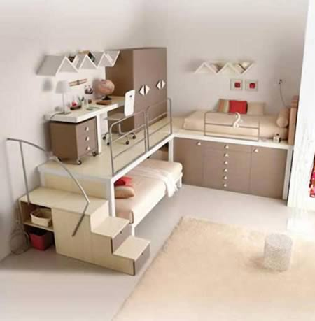 These Cool Bunk Beds And Teenageru0027s Bedroom Are Designed By Tumidei.