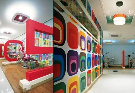10 coolest dental offices dental office cool offices oddee for Dental clinic interior design concept