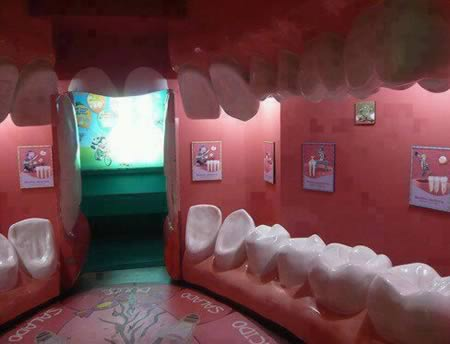 10 Coolest Dental Offices - dental office, cool offices - Oddee