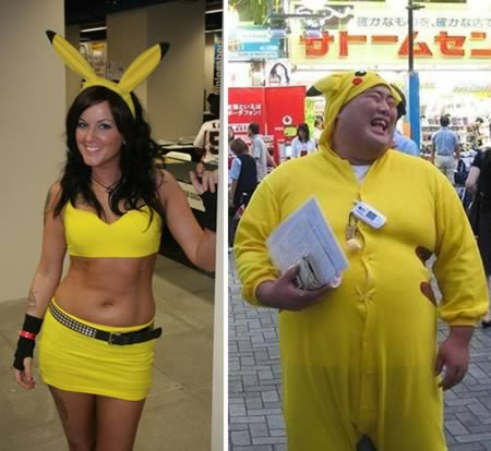 9 inappropriately sexy costumes for women - Pikachu Halloween Costume Women