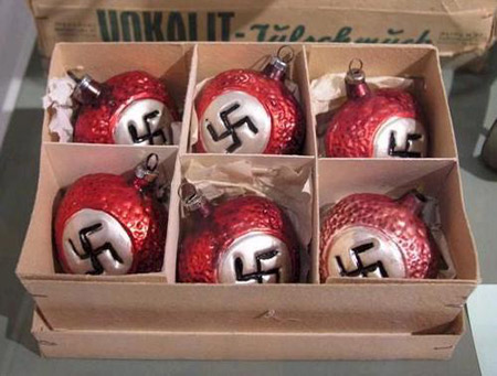 offensive christmas balls - Creepy Christmas Decorations