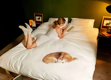 If You Love Pets But Are Not Allowed To Sleep With Yours, This Cool Bedding  Is The Perfect Solution. The Feeling Is That You Are Sharing Your Bed With  Your ...