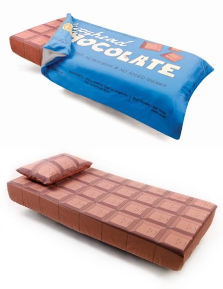 Chocolate Bar Bedding.