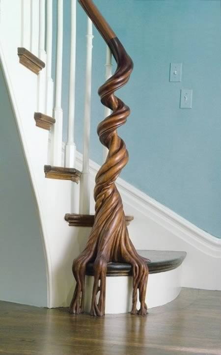 Banisters: 12 Most Creative Banisters - stair railings, stair ...
