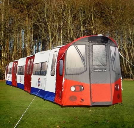 7London Underground Tube Tent : tents that look like houses - memphite.com