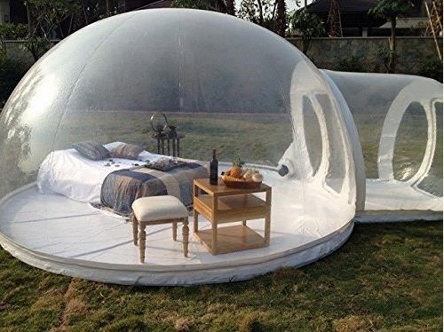 4Transparent Bubble Tent & 10 Coolest Camping Tents - cool camping cool tents - Oddee
