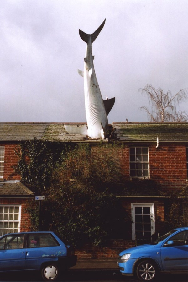 9 Houses That Got Smashed By Unbelievable Objects Oddee