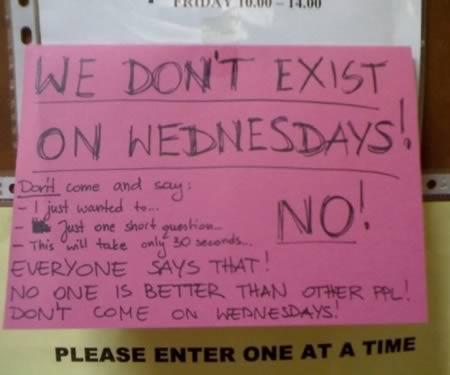 office do not disturb signs