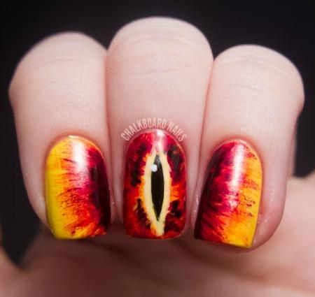 12 Geekiest Nail Designs - cool nail designs, nail geek - Oddee
