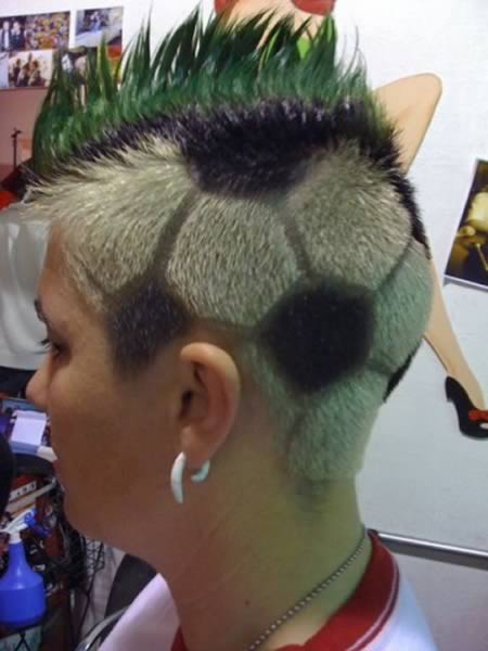12 Most Awesome Hair Tattoos Oddee