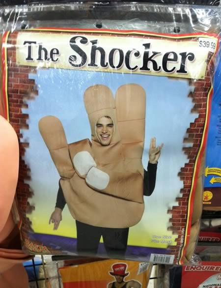 5The Shocker Costume  sc 1 st  Oddee & 10 Most Controversial Costumes For Sale - Oddee