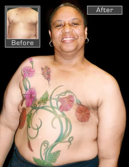 15 most amazing mastectomy tattoos oddee for Celtic breast cancer tattoos