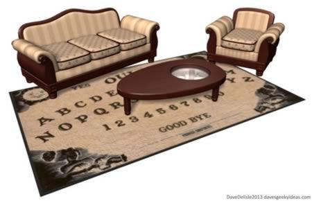 9Ouija Board Coffee Table U0026 Rug