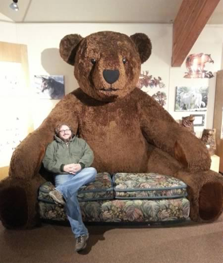 6Huge Teddy Bear Couch