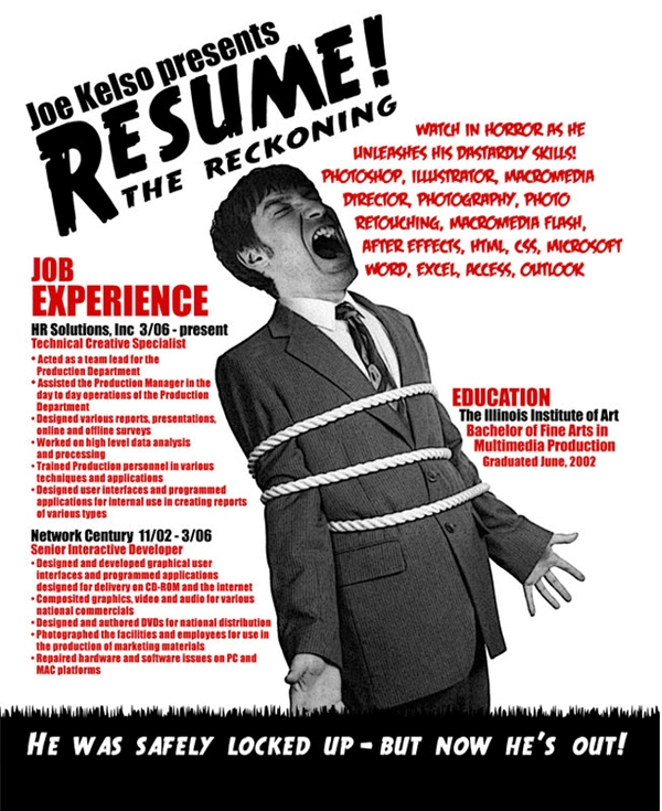 attention grabbing resumes