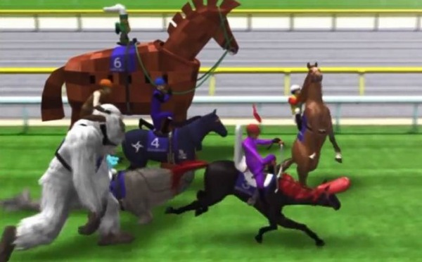 On The Surface Japan World Cup  Looks Like An Ordinary Horse Racing Game But Thats Where The Similarity To The Popular Sport Ends