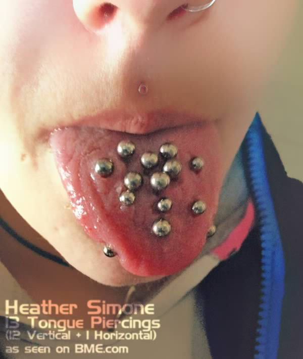 Tongue rings for guys