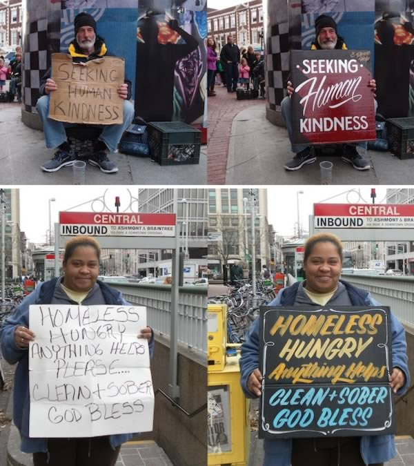 9 creative heartwarming ideas for helping the homeless oddee