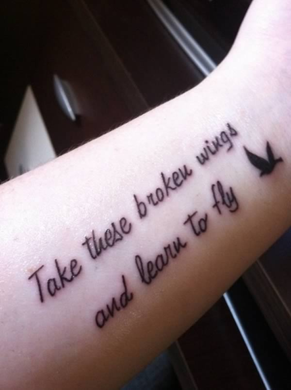 Take these broken wings and learn to fly | Beanstalk Single Mums