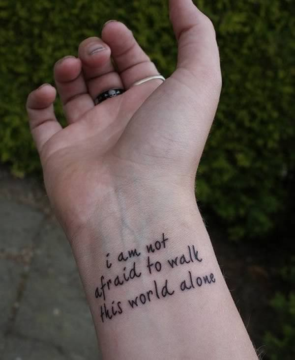 I'm not afraid to walk this earth alone | Beanstalk Single Mums