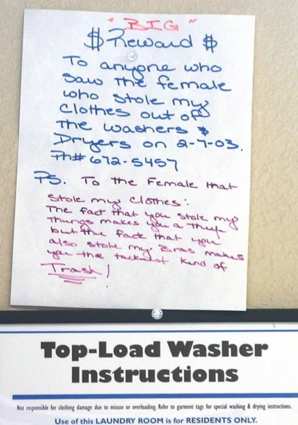 Funny Laundry Room Signs 13 Funniest Laundry Signs  Oddee