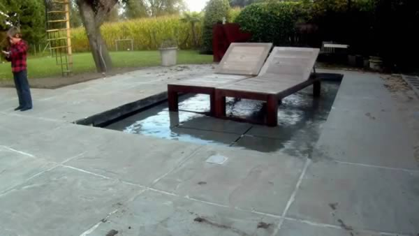 Marvelous Instead Of Sliding To Unveil The Pool, This Floor Submerses.