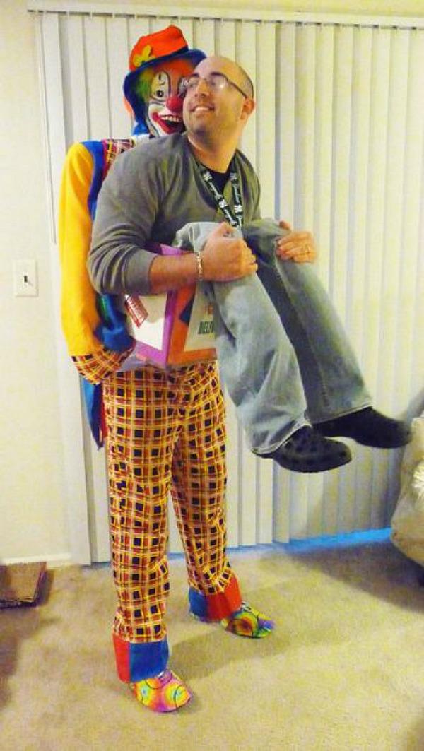 Midget clown suit