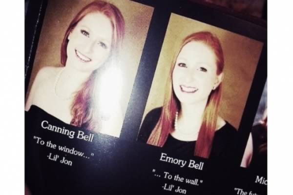 10 Hilarious Twins In Yearbooks Yearbook Senior Quote Twins Oddee
