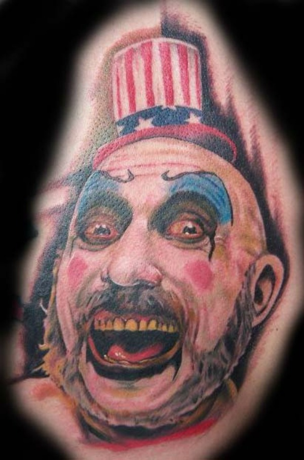 20 Creeptastic Horror Movie Tattoos Horror Tattoos Art