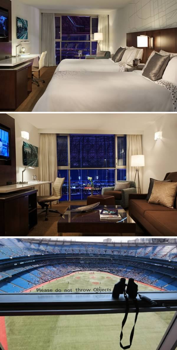 Watch Blue Jays Game From Hotel Room