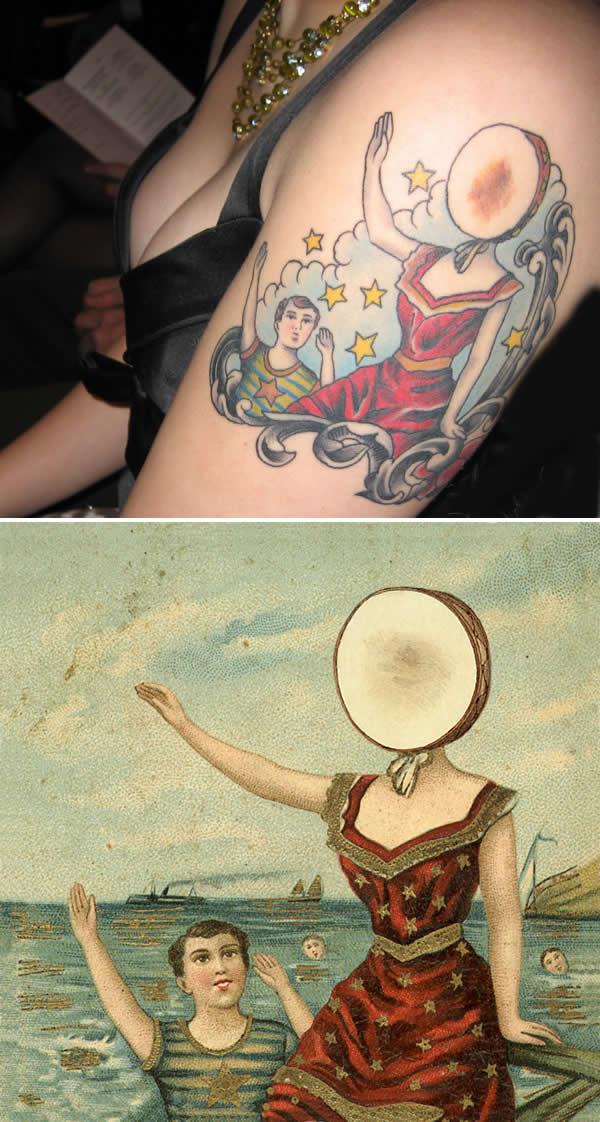 10 Most Awesome Birthmark Scar Tattoos Oddee