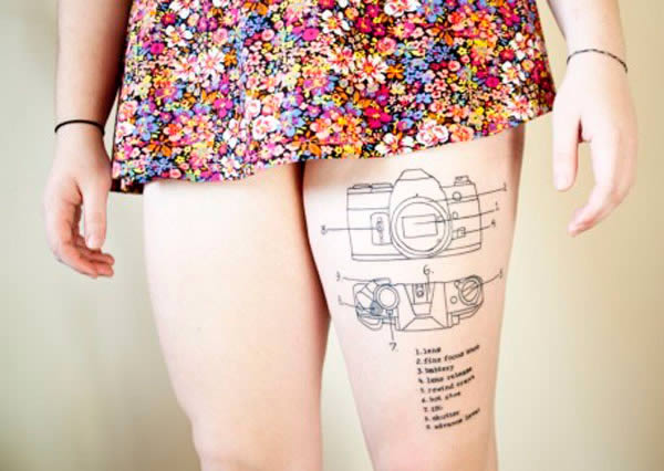 10 Coolest Tattoos Of Instructions Oddee