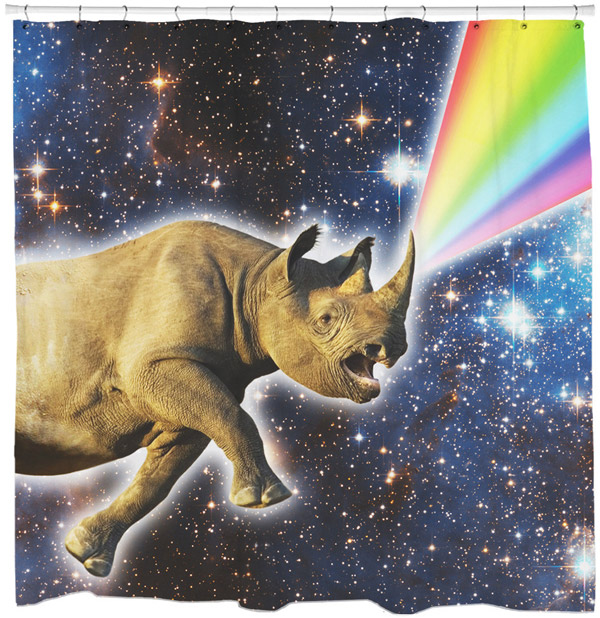12 More Cool Shower Curtains