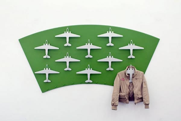 These cool airplane hangers, by artist Kolja Clemens, are called Tempelhof  after the old airport of West Berlin and commemorate the Berlin Airlift of  ...