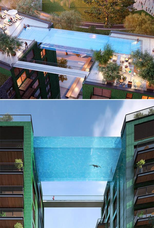 1Embassy Gardens Sky Pool