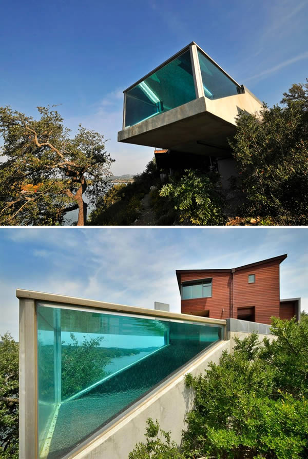 Cantilever Balcony Design Plans: 10 Most Awesome Suspended Pools